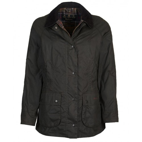 Barbour Classic Beadnell Wax Jacket Olive