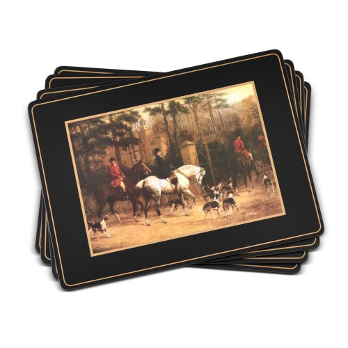 Pimpernel Placemats Tally Ho Set 4