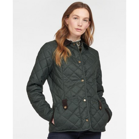 Barbour Snowhill Quilted Jacket Olive