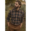 Barbour Singsby Thermo Wave Shirt Navy