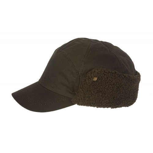 Hatland Cap Timber Wax Brown