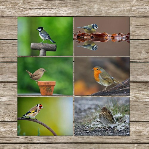 Placemats Country Matters Tuin Vogels