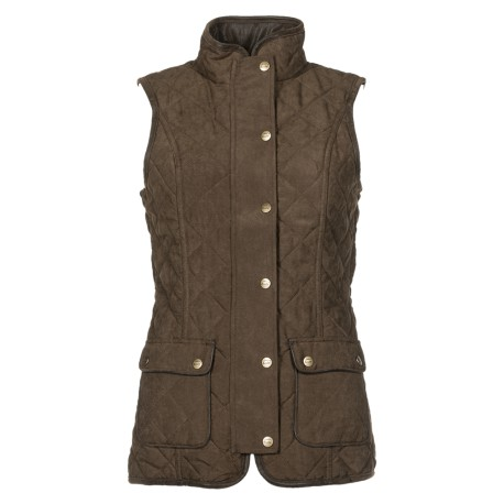 Baleno Scarlet quilted Bodywarmer Chocolate