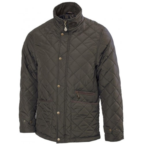 Vedoneire Quilted heren jas Olive