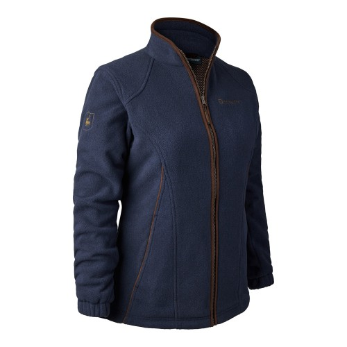 Deerhunter lady Josephine Fleece Jacket Stormliner Blue