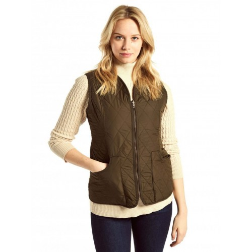 Dubarry Kilruddery Quilted Gilet Olive