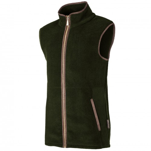 Baleno Highfield Fleece Bodywarmer Green Khaki