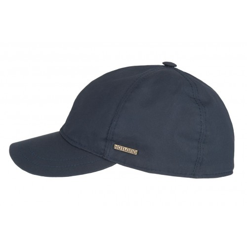 Hatland Tendenz Waxed Cotton pet Navy