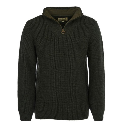 Barbour New Tyne Half-Zip jumper Olive