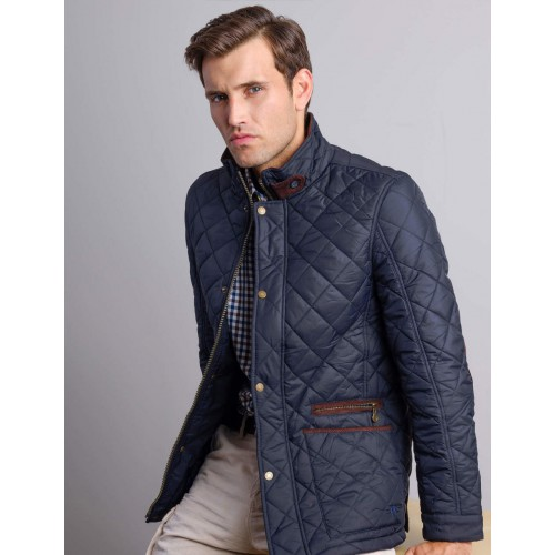 Vedoneire Quilted jack Navy