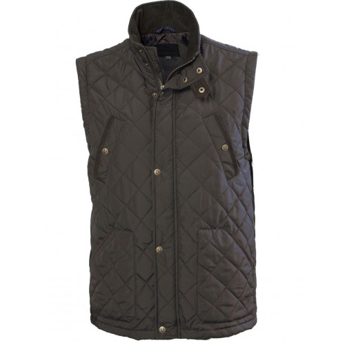Vedoneire Heritage Quilted Bodywarmer Olive