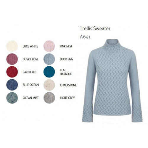 IrelandsEye Trellis Sweater
