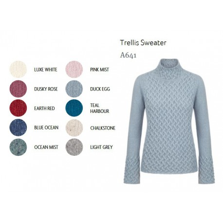Irelands Eye Trellis sweater