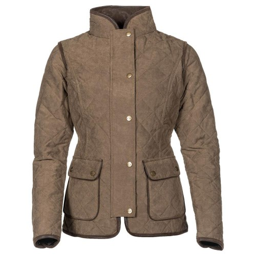 Baleno Hepburn Quilted Ladies Jacket Kaki Olive