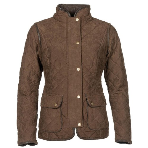 Baleno Hepburn Jacket Chocolate Brown