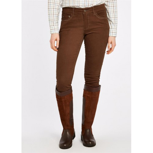 Dubarry Honeysuckle Corduroy Stretchbroek Mocha