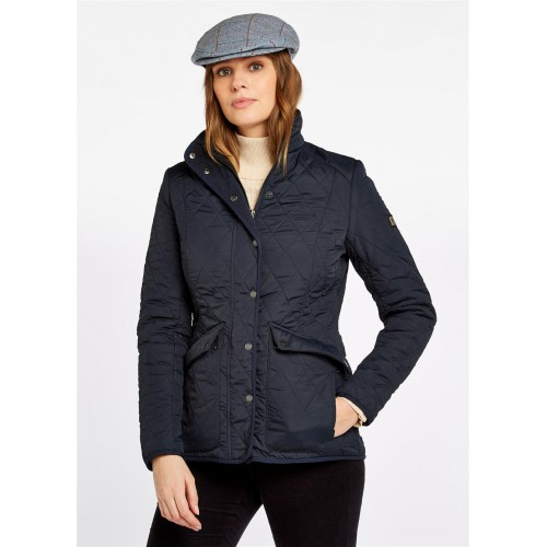 Dubarry Bettystown Quilted Coat Navy