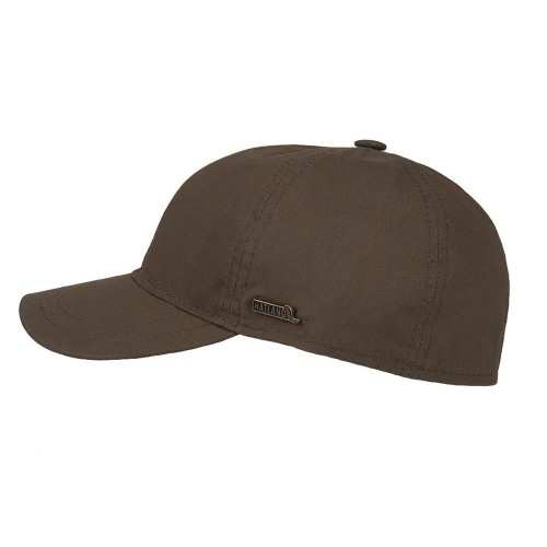 Hatland Cap Tendenz Waxed Cotton - Olive