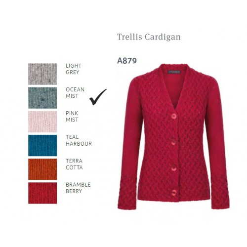 Irelands Eye Trellis Cardigan