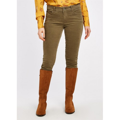 Dubarry Honeysuckle Jeans Dusky Green