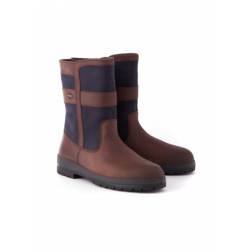 Dubarry Roscommon Country Boot Navy Brown