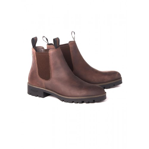 Dubarry Antrim Chelsea Boots Mens Old rum
