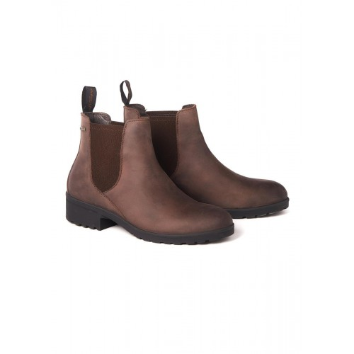 Dubarry Waterford Chelsea Boots Old Rum