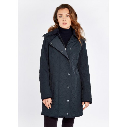 Dubarry Jamestown Quilted Jacket Navy