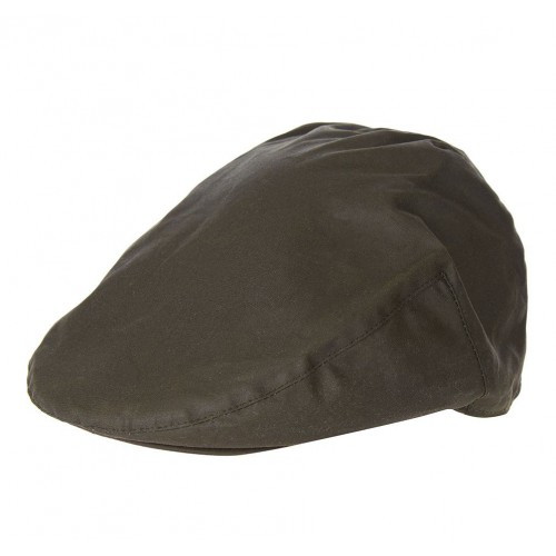 Barbour Wax  Flat Cap Sylkoil Olive
