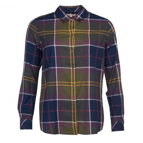 Barbour Moorland Shirt Olive