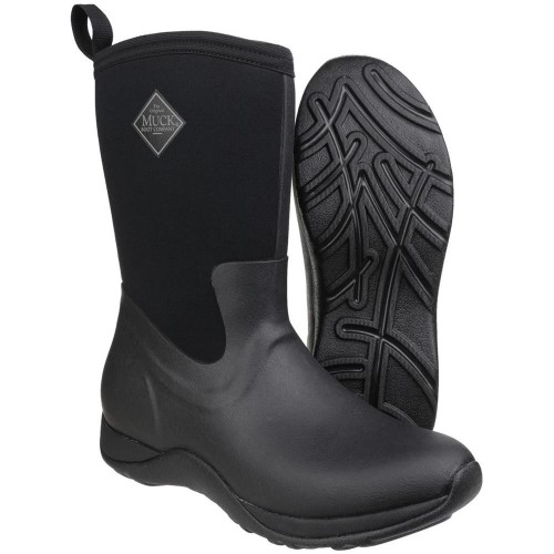 MuckBoot Dameslaars Arctic Weekend Black