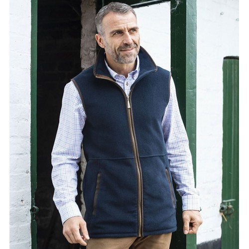 Baleno Highfield Fleece Bodywarmer Navy