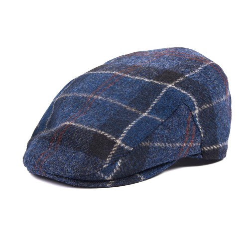 Barbour Moons Tweed Cap - Navy Blue