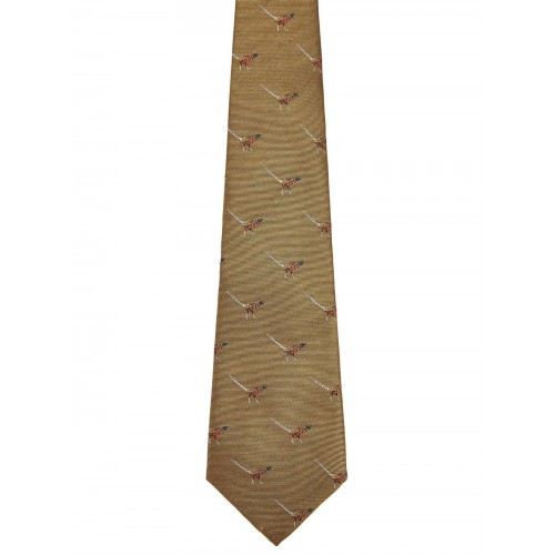 Dubarry Madden Silk Tie - Gold