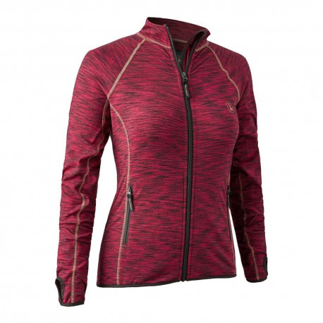 Deerhunter Lady Insulated Fleece Red Melange