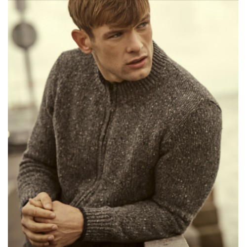 Irelands Eye 'Tramore' Cardigan Rocky Ground