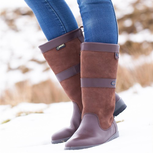 Dubarry Kildare Country Boots Walnut Winter Snow