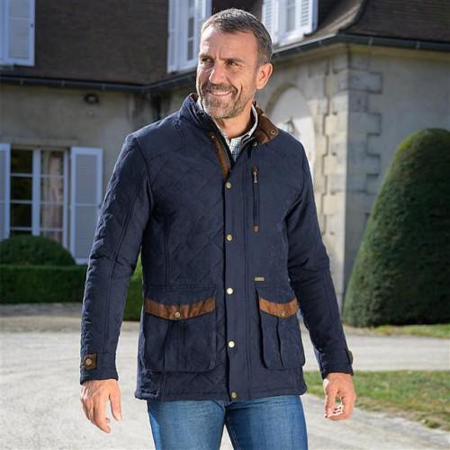 Baleno Goodwood Men's Quilted Jacket Navy