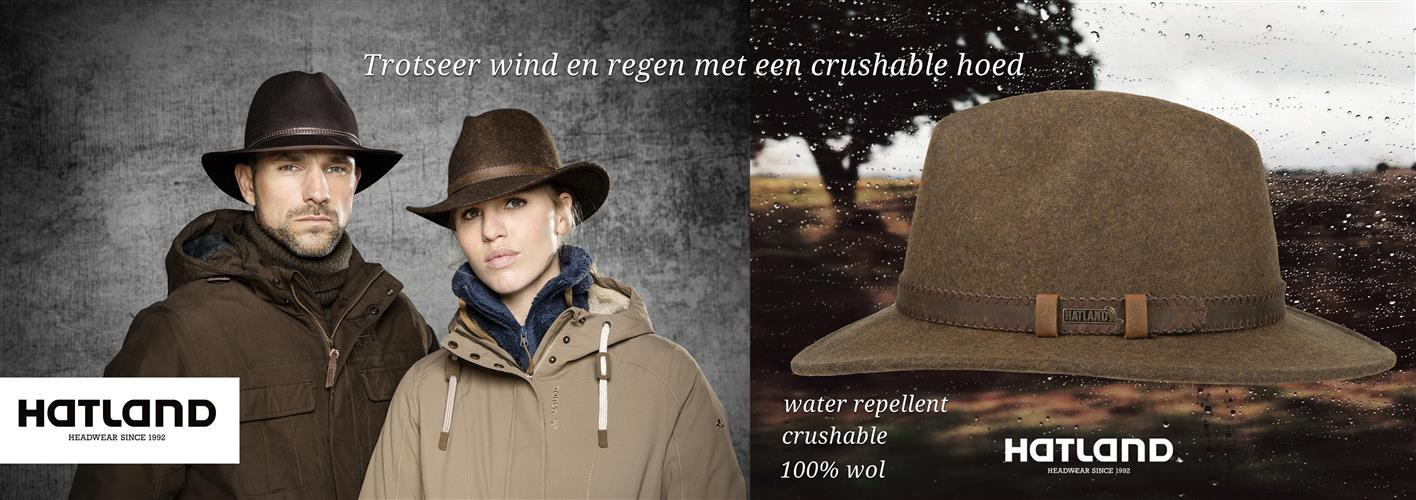 Hatland crushable hoeden collectie